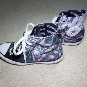 Catwoman Converse All Star high tops